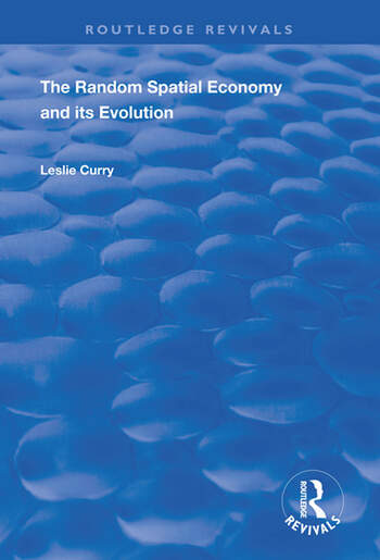 The Random Spatial Economy and its Evolution book cover