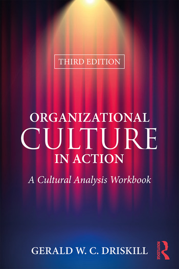 Organizational Culture in Action A Cultural Analysis Workbook book cover