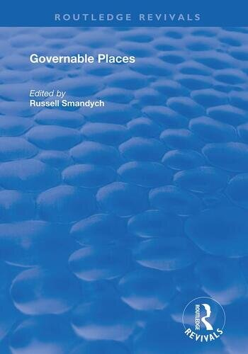 Governable Places Readings on Governmentality and Crime Control book cover