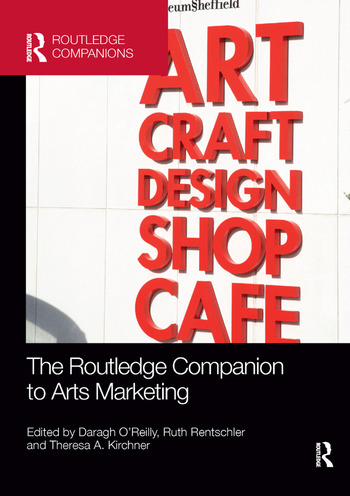 The Routledge Companion to Arts Marketing book cover