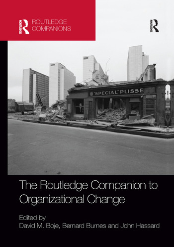 The Routledge Companion to Organizational Change book cover