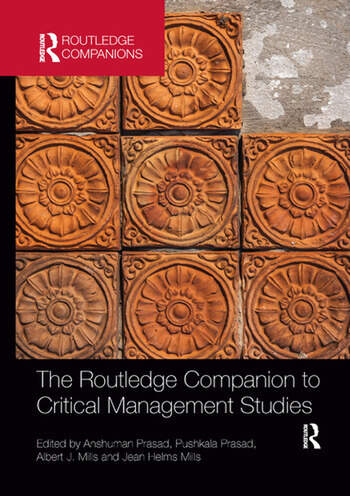 The Routledge Companion to Critical Management Studies book cover