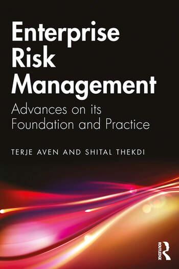 Enterprise Risk Management Advances on its Foundation and Practice book cover