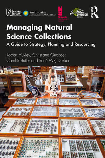 Managing Natural Science Collections A Guide to Strategy, Planning and Resourcing book cover