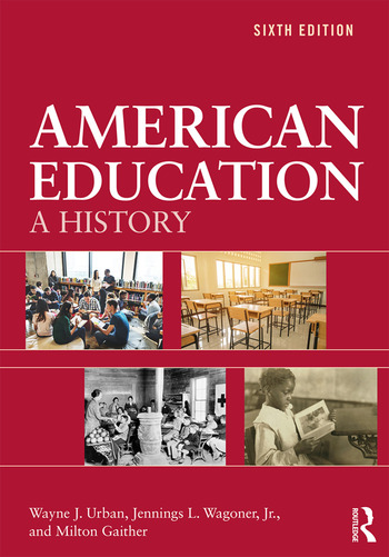 American Education A History book cover
