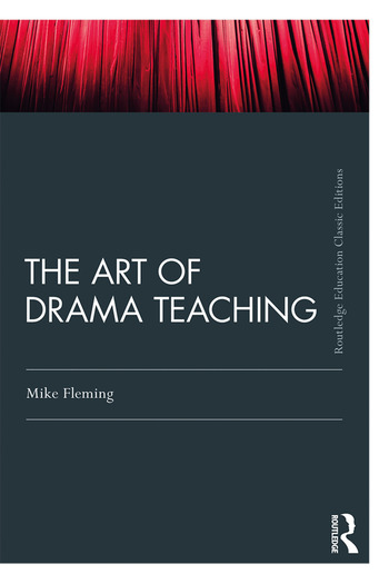 The Art Of Drama Teaching book cover