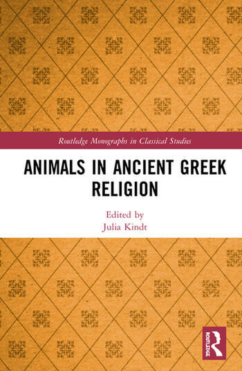 Animals in Ancient Greek Religion book cover