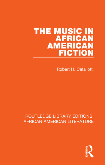 The Music in African American Fiction book cover