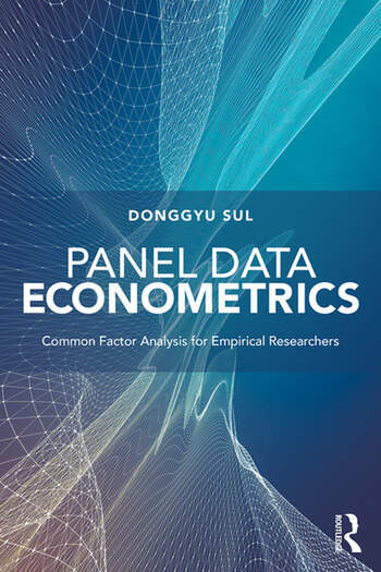 Panel Data Econometrics Common Factor Analysis for Empirical Researchers book cover