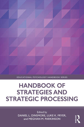 Handbook of Strategies and Strategic Processing book cover