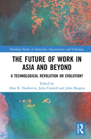 The Future of Work in Asia and Beyond A Technological Revolution or Evolution? book cover