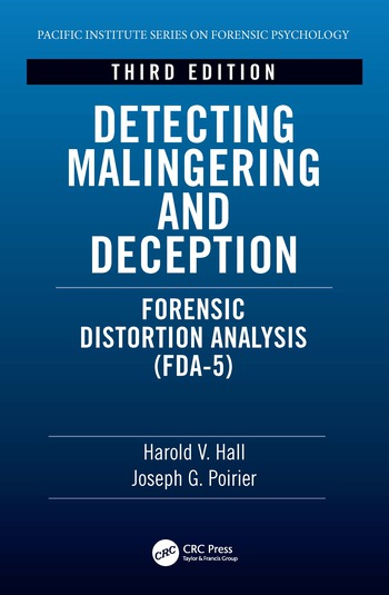 Detecting Malingering and Deception Forensic Distortion Analysis (FDA) book cover