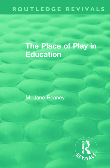 The Place of Play in Education book cover