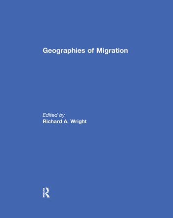 Geographies of Migration book cover