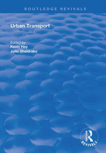 Urban Transport A Century of Progress? book cover