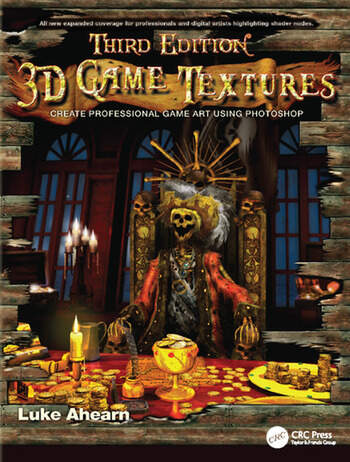 3D Game Textures Create Professional Game Art Using Photoshop book cover