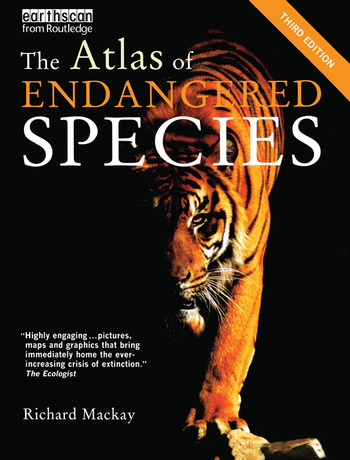 The Atlas of Endangered Species book cover