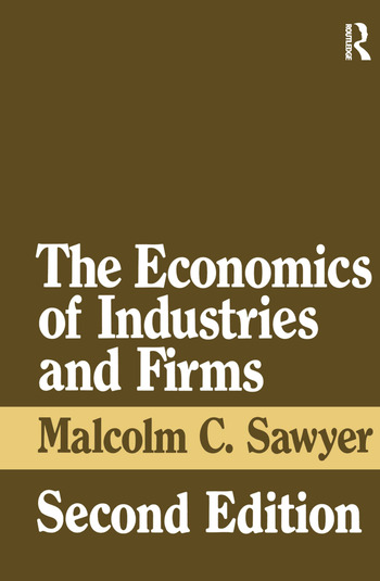 The Economics of Industries and Firms book cover