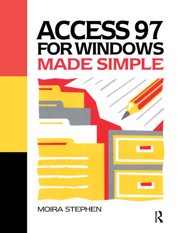 Access 97 for Windows Made Simple book cover