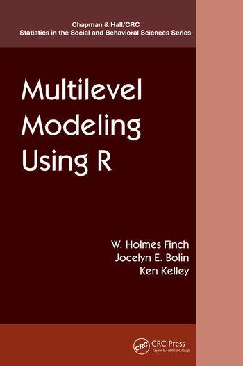 Multilevel Modeling Using R book cover