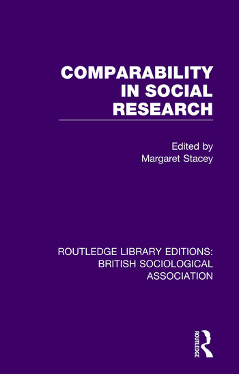 Comparability in Social Research book cover
