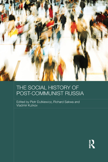 The Social History of Post-Communist Russia book cover