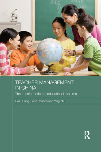 Teacher Management in China The Transformation of Educational Systems book cover