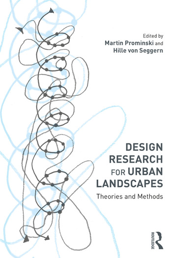 Design Research for Urban Landscapes Theories and Methods book cover