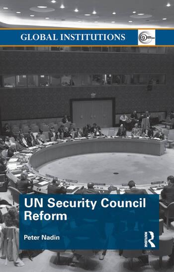 UN Security Council Reform book cover