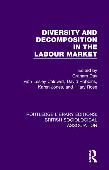 Diversity and Decomposition in the Labour Market book cover