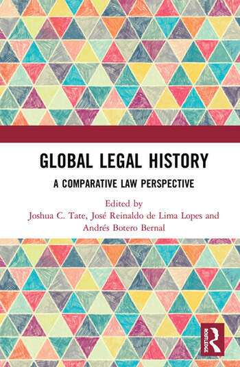 Global Legal History A Comparative Law Perspective book cover