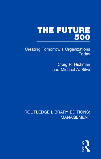 The Future 500 Creating Tomorrow's Organisations Today book cover