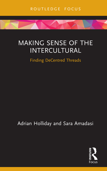Making Sense of the Intercultural Finding Decentred Threads book cover