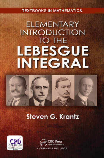 Elementary Introduction to the Lebesgue Integral book cover