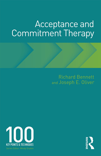 Acceptance and Commitment Therapy 100 Key Points and Techniques book cover