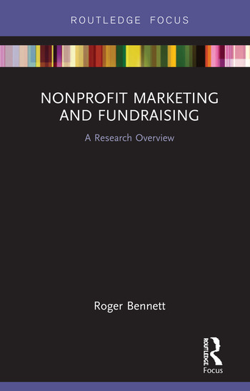 Nonprofit Marketing and Fundraising A Research Overview book cover