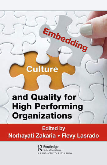 Embedding Culture and Quality for High Performing Organizations book cover