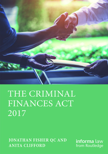 The Criminal Finances Act 2017 book cover