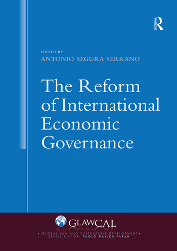 The Reform of International Economic Governance book cover