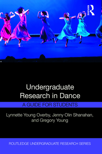 Undergraduate Research in Dance A Guide for Students book cover