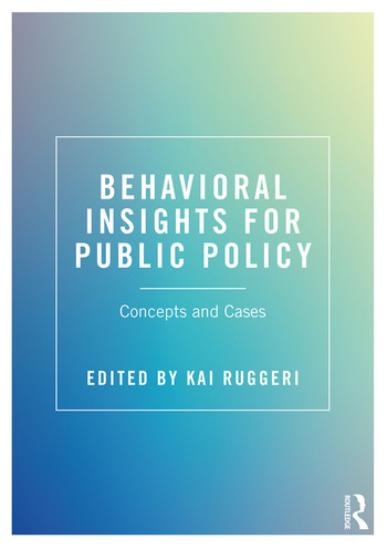 Behavioral Insights for Public Policy Concepts and Cases book cover