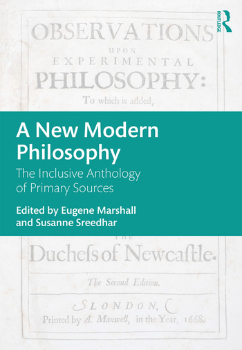 A New Modern Philosophy The Inclusive Anthology of Primary Sources book cover