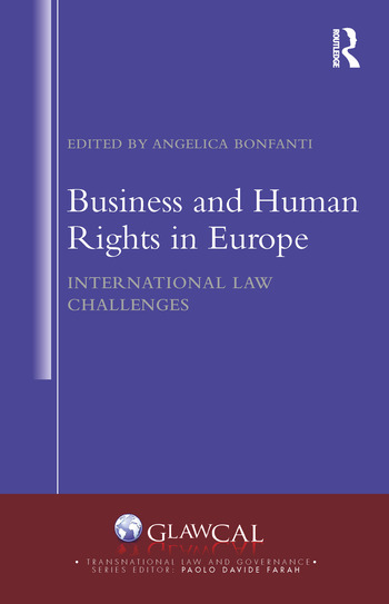 Business and Human Rights in Europe International Law Challenges book cover
