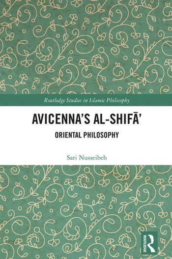 Avicenna's Al-Shifā' Oriental Philosophy book cover