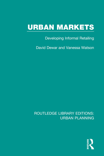 Urban Markets Developing Informal Retailing book cover