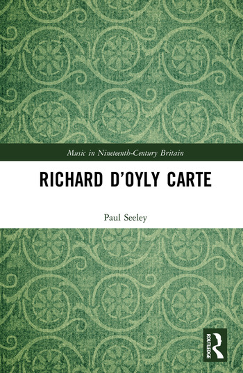 Richard D'Oyly Carte book cover