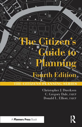 The Citizen's Guide to Planning book cover