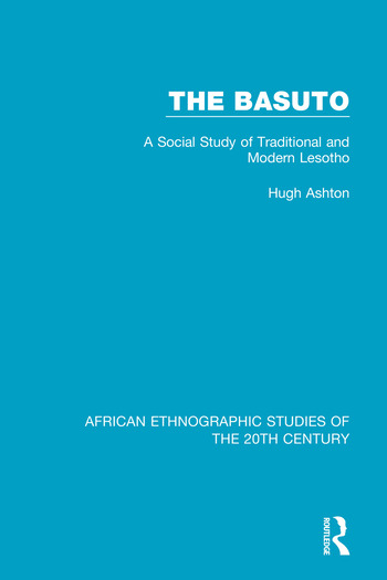 The Basuto A Social Study of Traditional and Modern Lesotho book cover