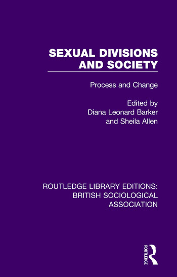 Sexual Divisions and Society Process and Change book cover