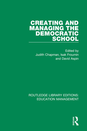 Creating and Managing the Democratic School book cover